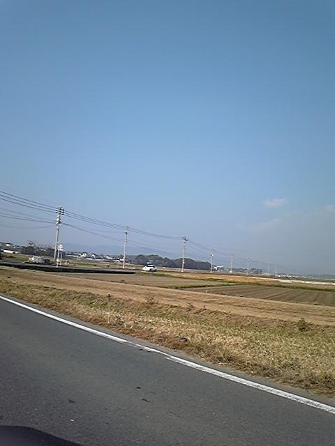 朝〜北九州へ着陸!