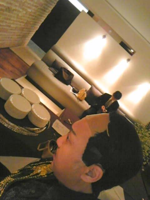 レストランで・・・