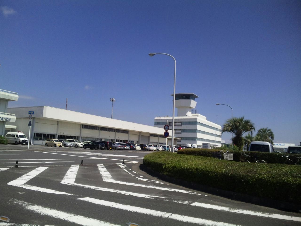 鹿児島空港到着!