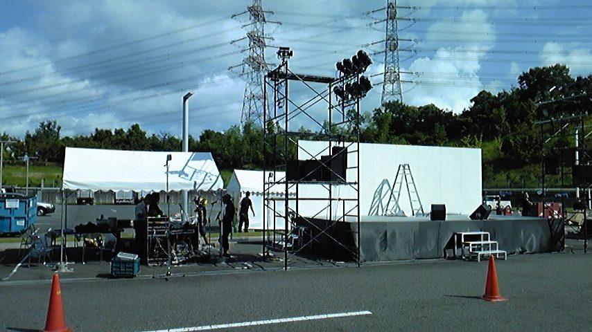 去り行く夏祭りステージ!