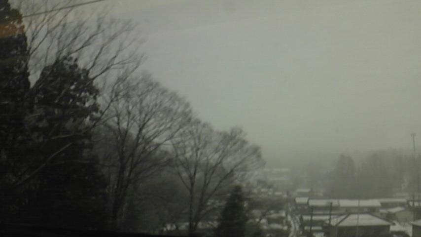 移動中〜んっ〜雪・雪・・・