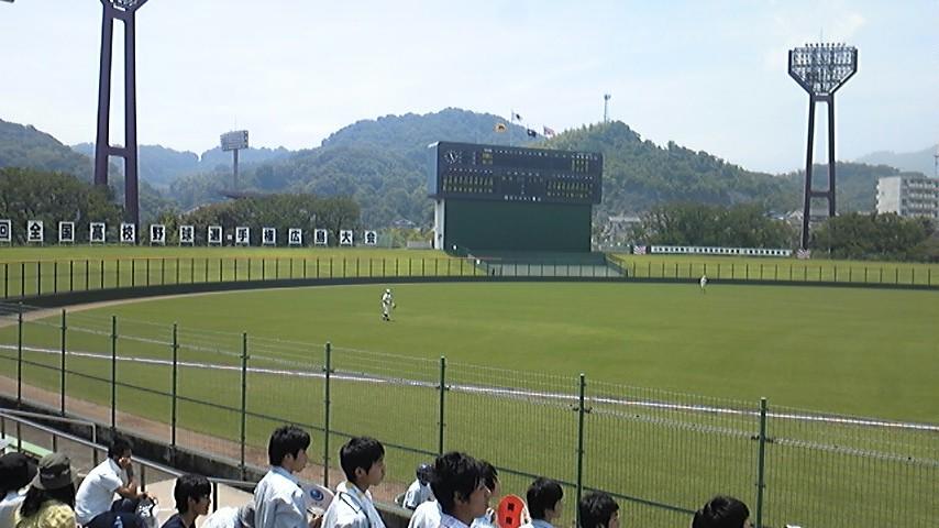 熱戦!地方球場!高校野球