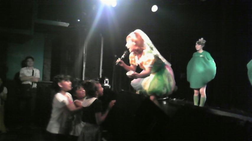 渋谷LIVE<br />  !好評のうちに・・・