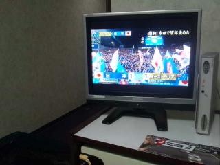 地方より…祝…日本!!